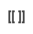 VisualEditor bi-directional switching square brackets icon.png