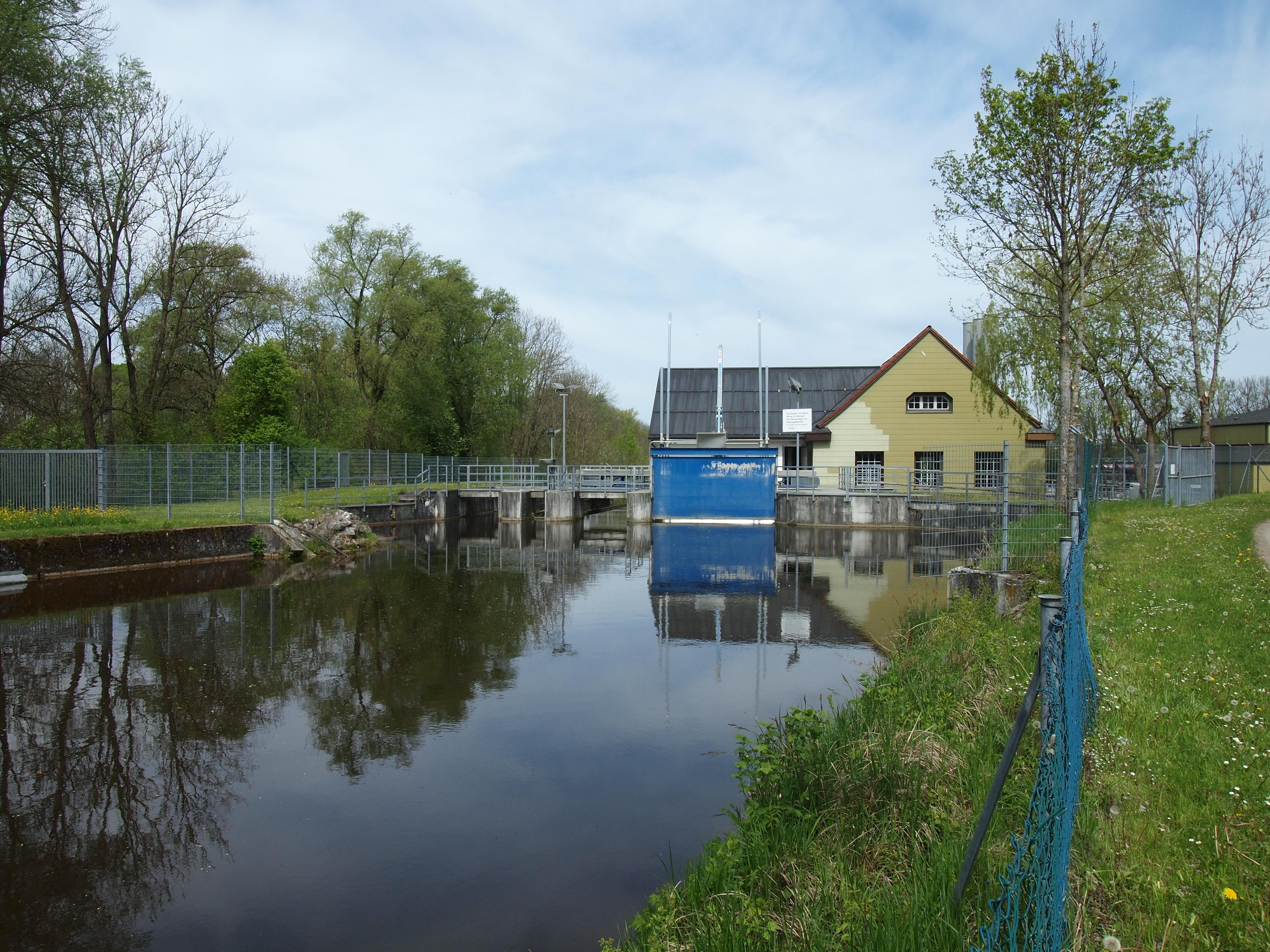 Wasserkraftwerk Leinau