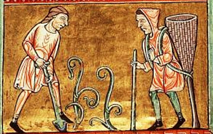 Weinbau - Psalter 1180 March 1