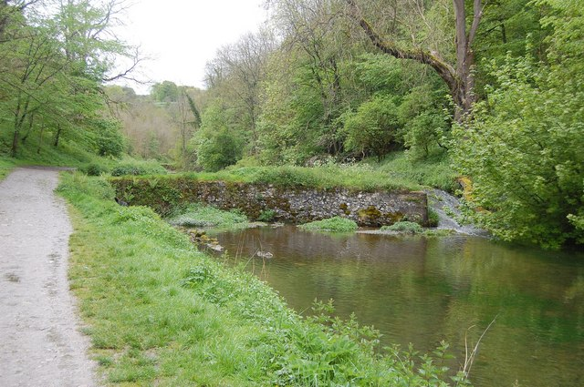 Weir on River Bradford - geograph.org.uk - 1310268