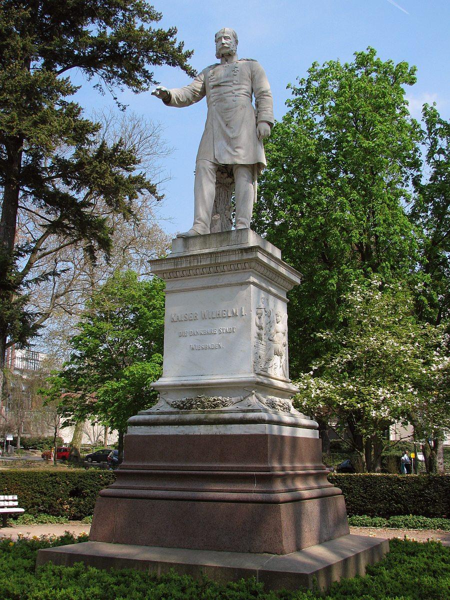 Denkmal Wilhelm 1 Kaiser Wilhelm i Denkmal