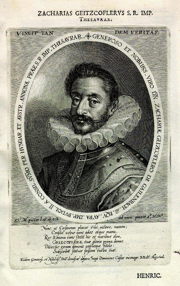 Reichspfennigmeister Zacharias Geizkofler