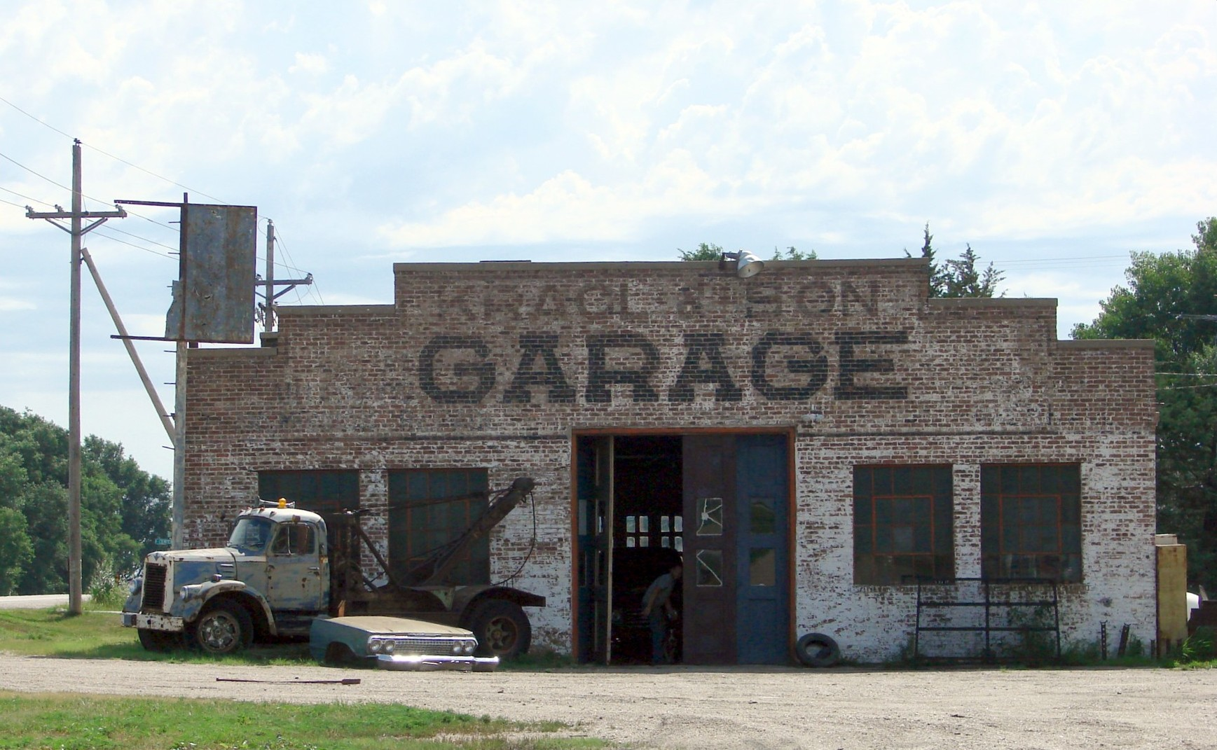 Old Service Garages : File quot old auto repair shop ghosts of the midwest nb