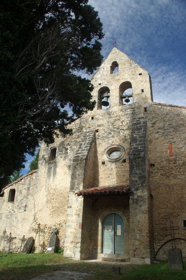 Église Saint-Laurent à Gabre (Ariège).jpg