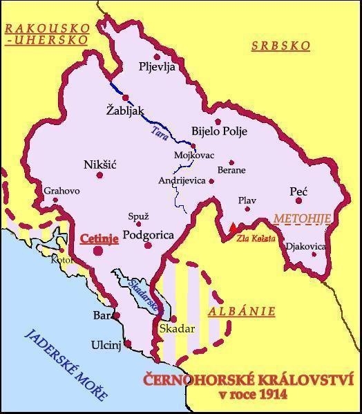 Cernohorske Kralovstvi Wikipedie