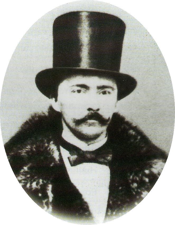 Heinrich Schliemann portrait