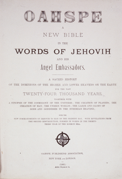 Oahspe: A New Bible - Wikipedia