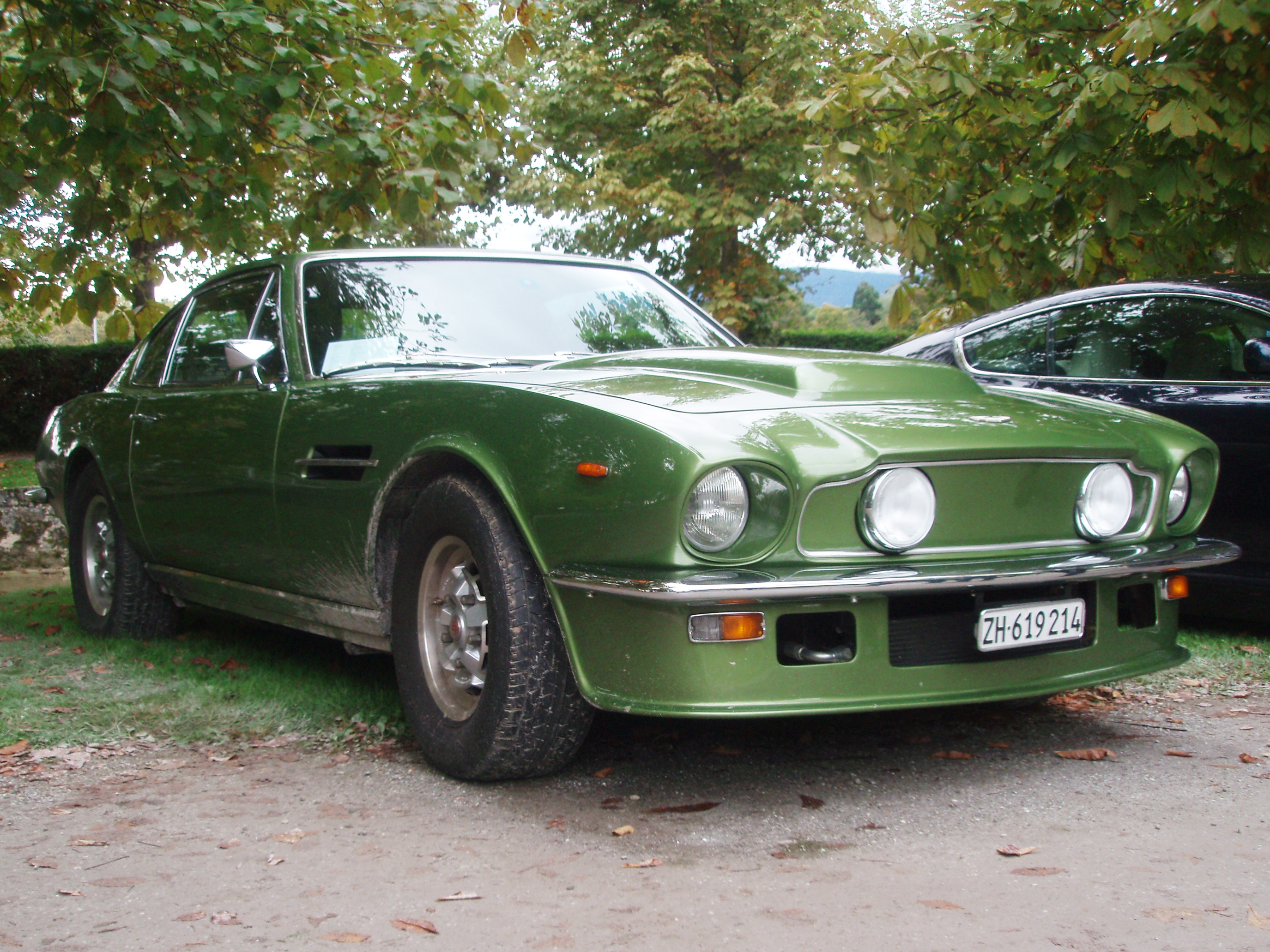 File 1978 Aston Martin V8 Vantage Fliptail In Morges 2013 Front Right Level Jpg Wikimedia Commons