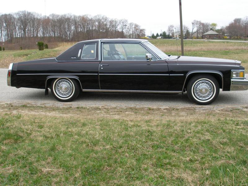 description 1979 cadillac coupe deville triple black. Cars Review. Best American Auto & Cars Review