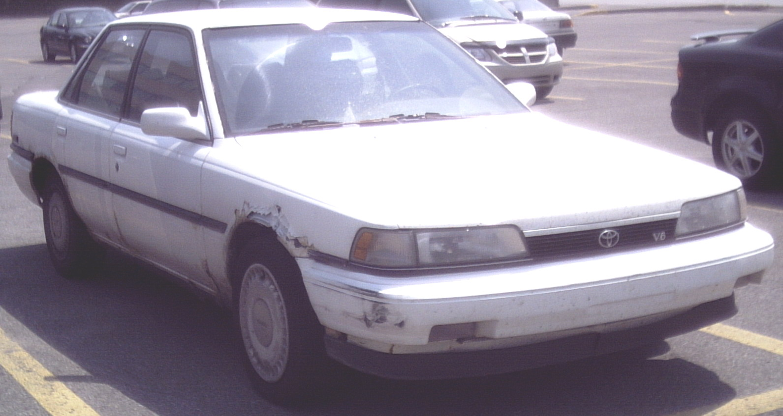 Тойота камри 1991 фото