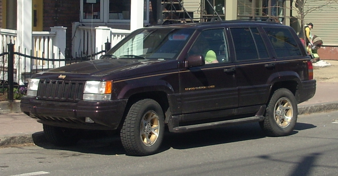 File 1996 1998 Jeep Grand Cherokee Limited Jpg Wikimedia