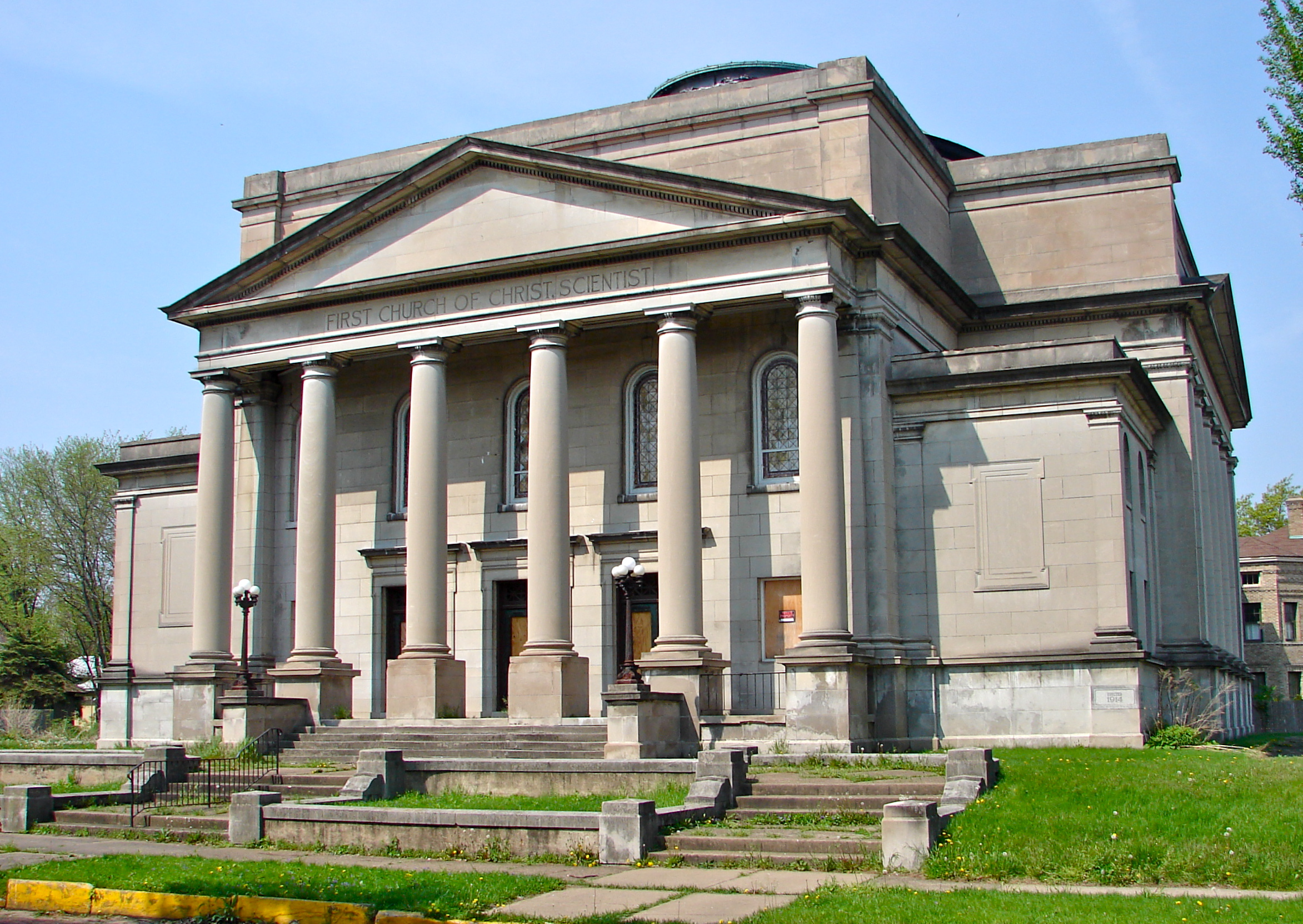 List of former Christian Science churches, societies and