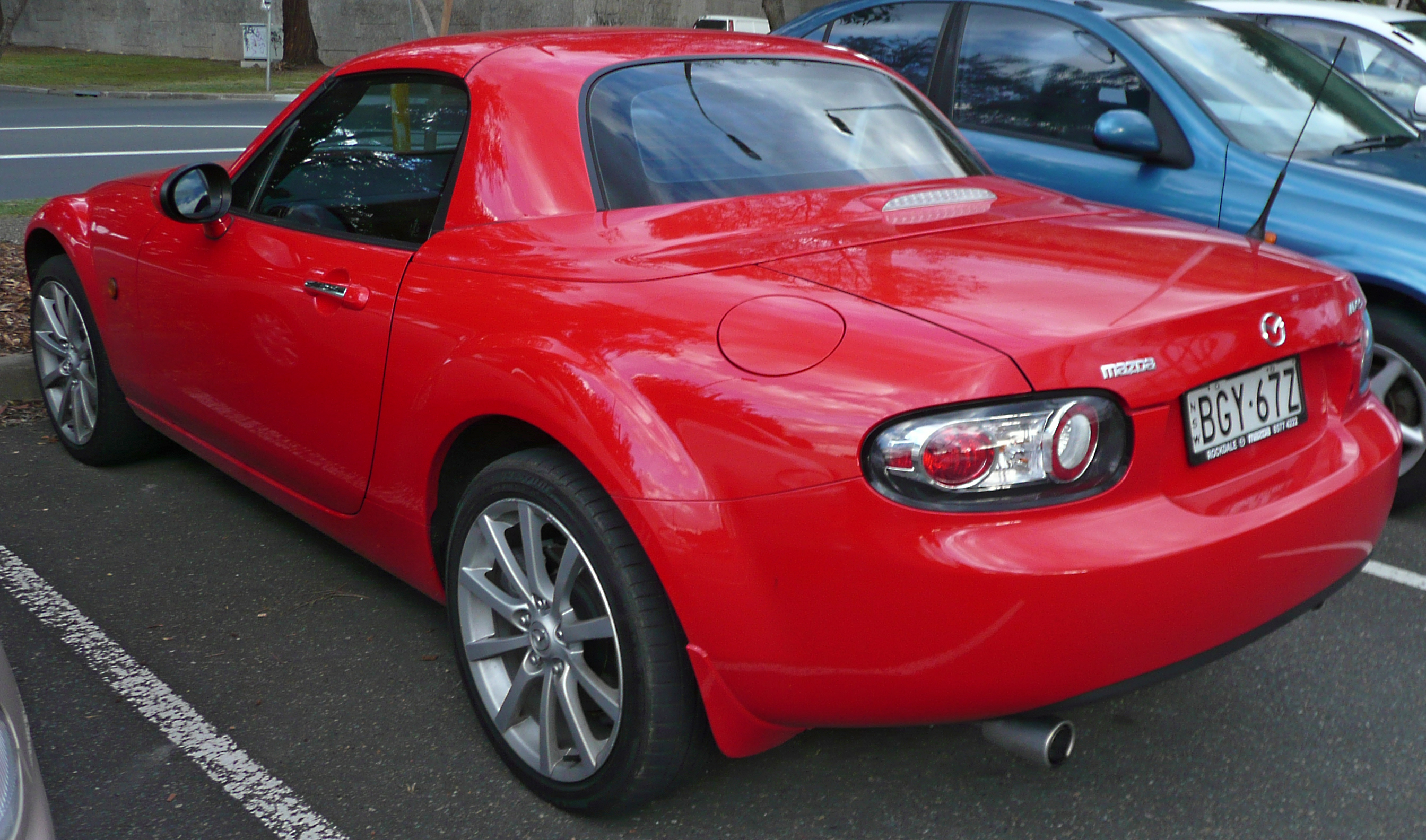 file 2005 2009 mazda mx 5 nc series 1 hardtop wikimedia commons. Black Bedroom Furniture Sets. Home Design Ideas