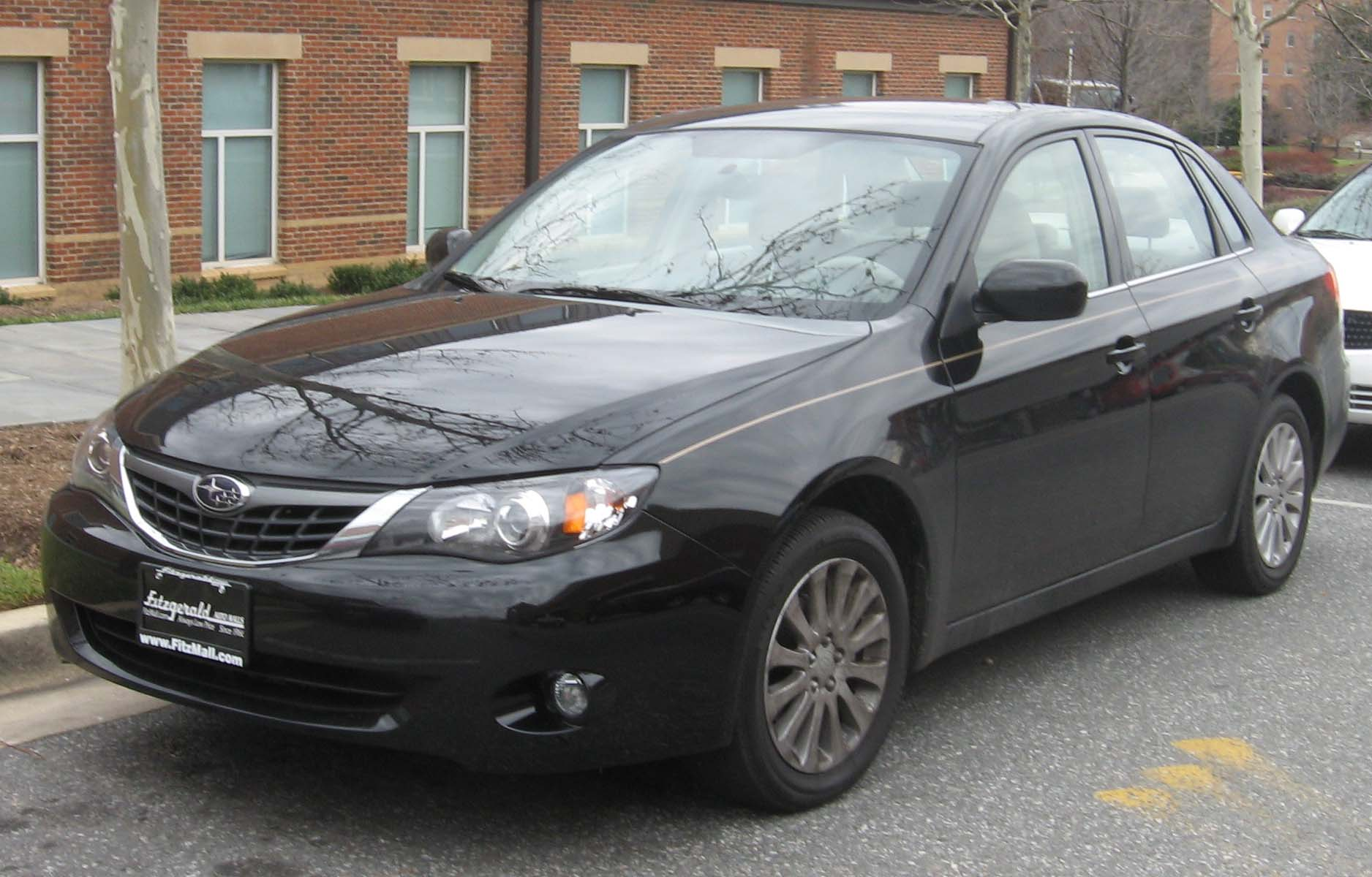 file 2008 subaru impreza sedan wikimedia commons. Black Bedroom Furniture Sets. Home Design Ideas