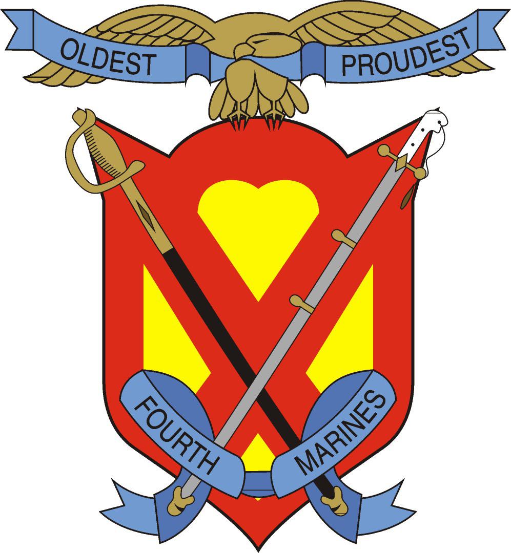 1st Battalion, 4th Marines  |1st Battalion 4th Marines Logo