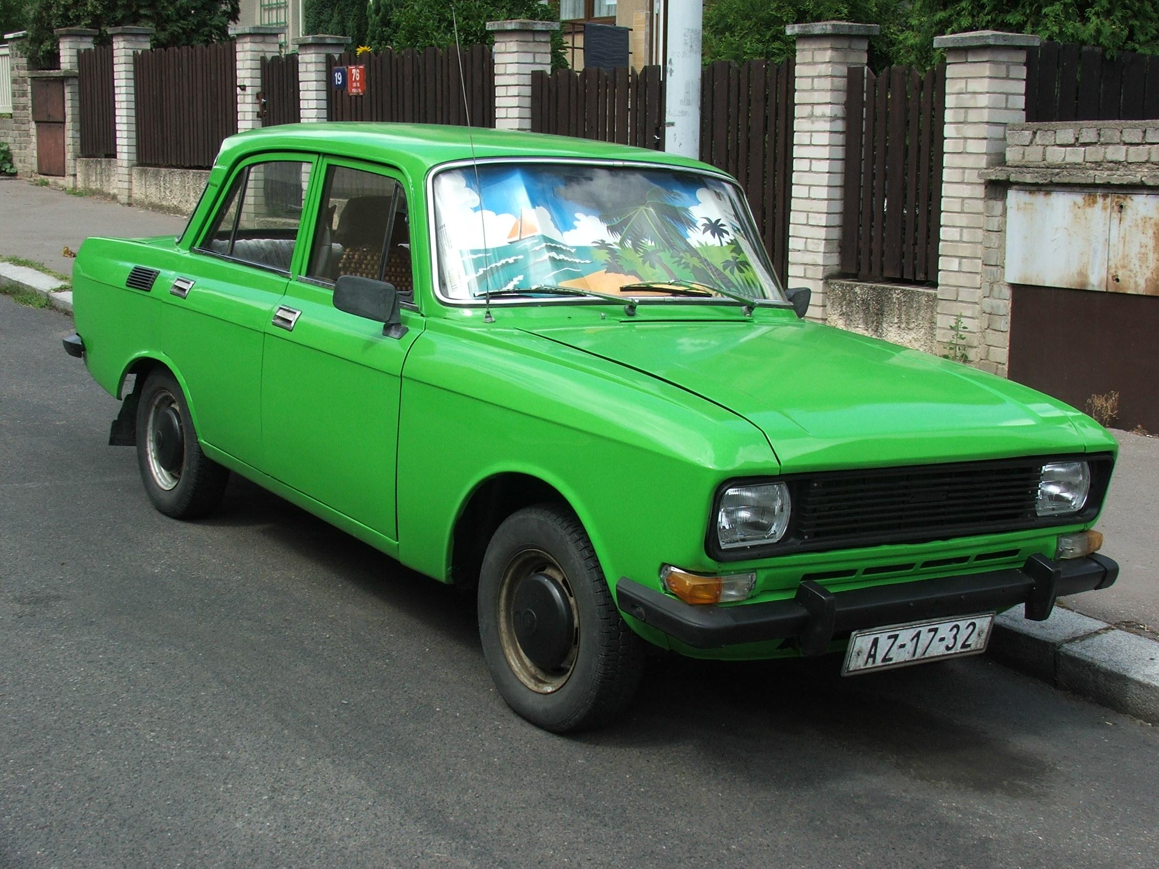 """File:AZLK-2140 """"Moskvich"""" in Praha ..."""