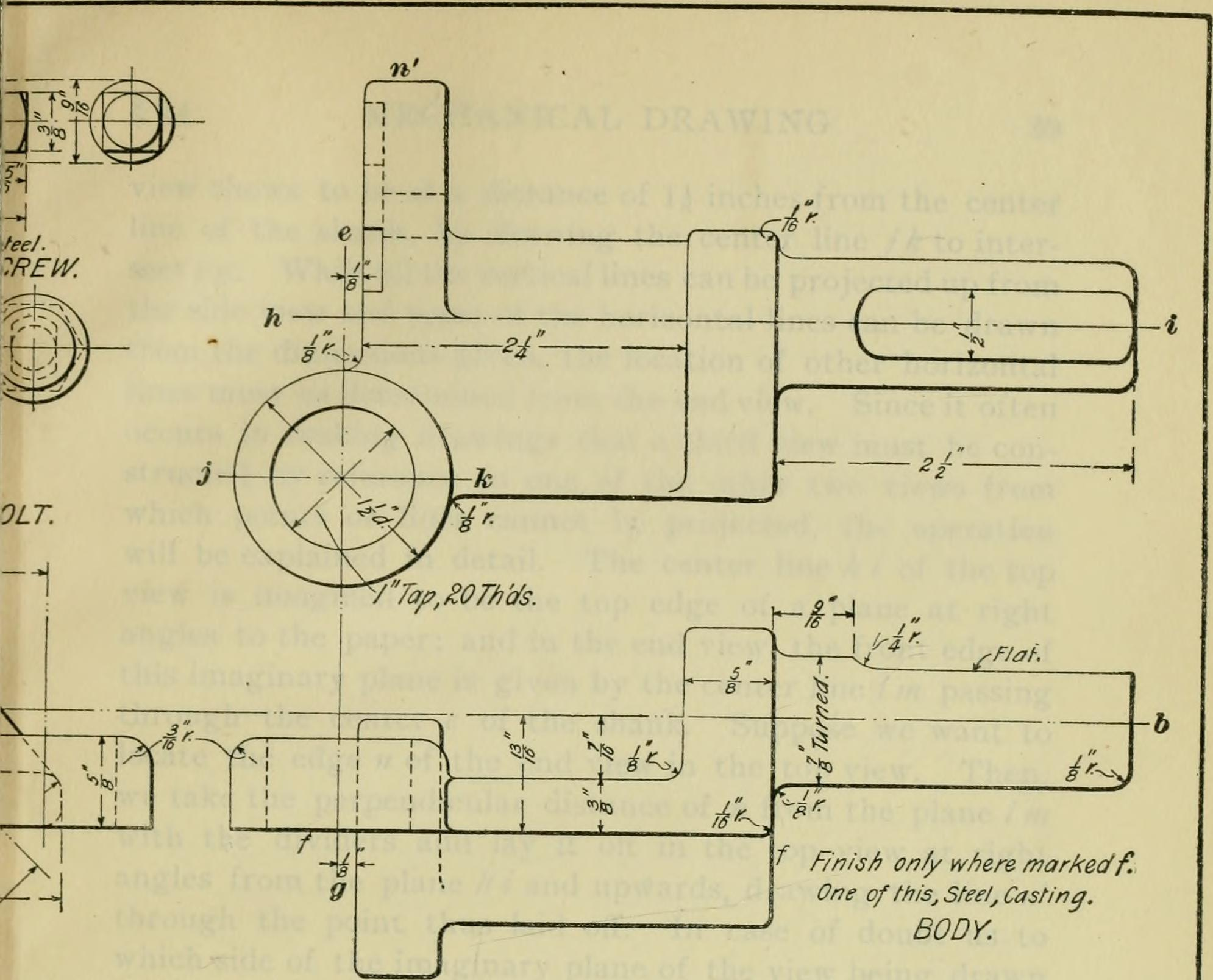 Filea Textbook On Mechanical And Electrical Engineering 1902 Plan 14792021593