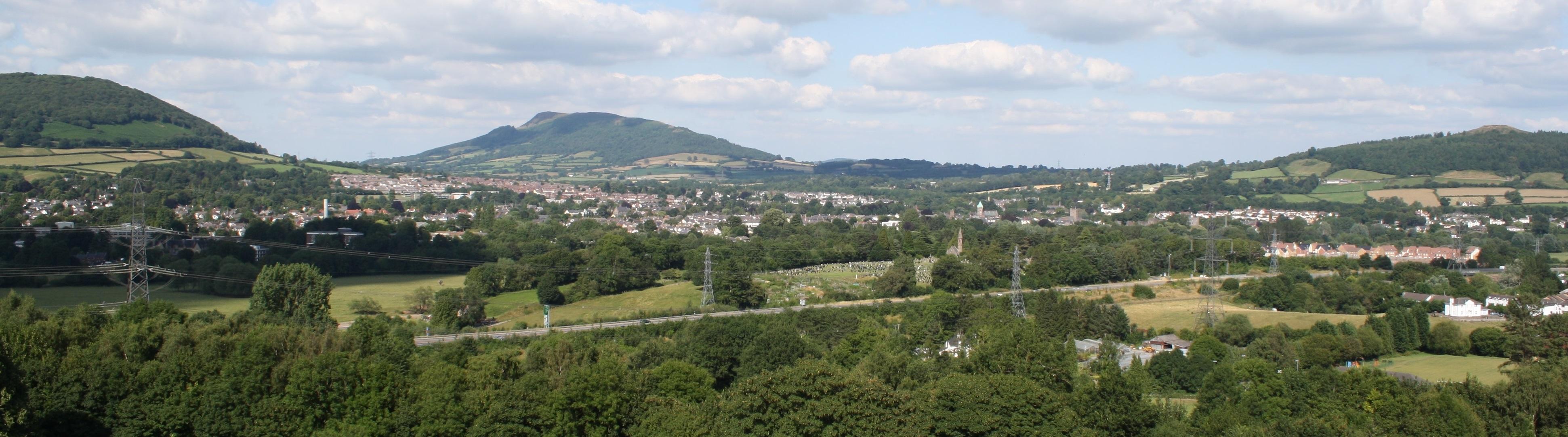 Guía Abergavenny Turismo - lugares para hospedarse, cosas que hacer e información sobre la ciudad galesa de