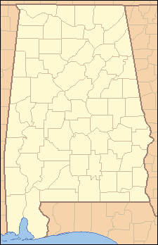 Hissop, Alabama на мапи Alabama