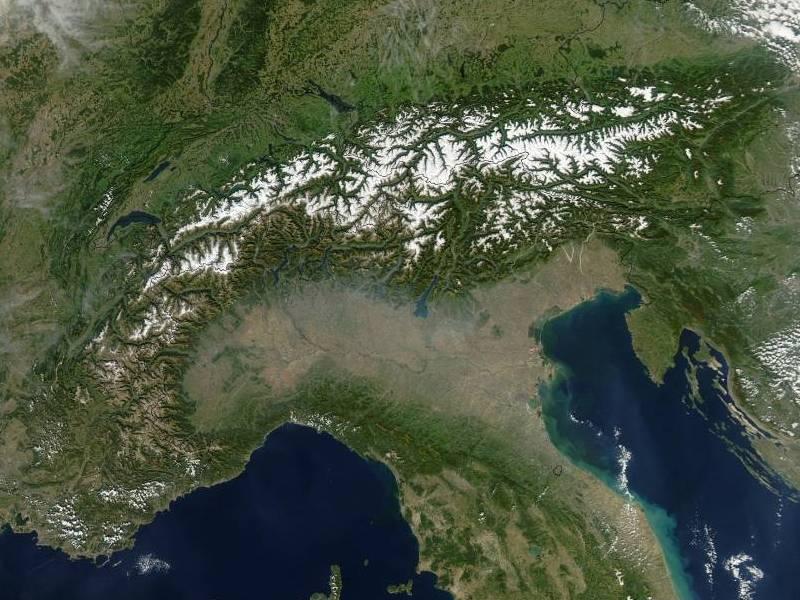 Cartina Dell Italia Alpi E Appennini.Alpi Italiane Wikipedia