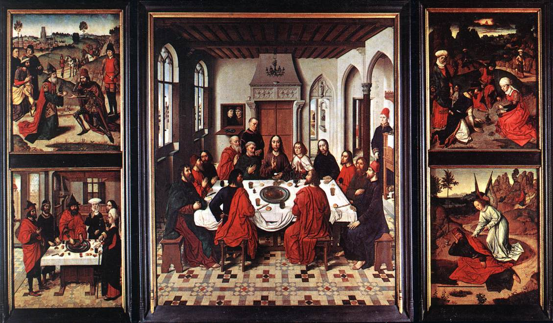 Het Laatste Avondmaal (Dirk Bouts) - Wikipedia