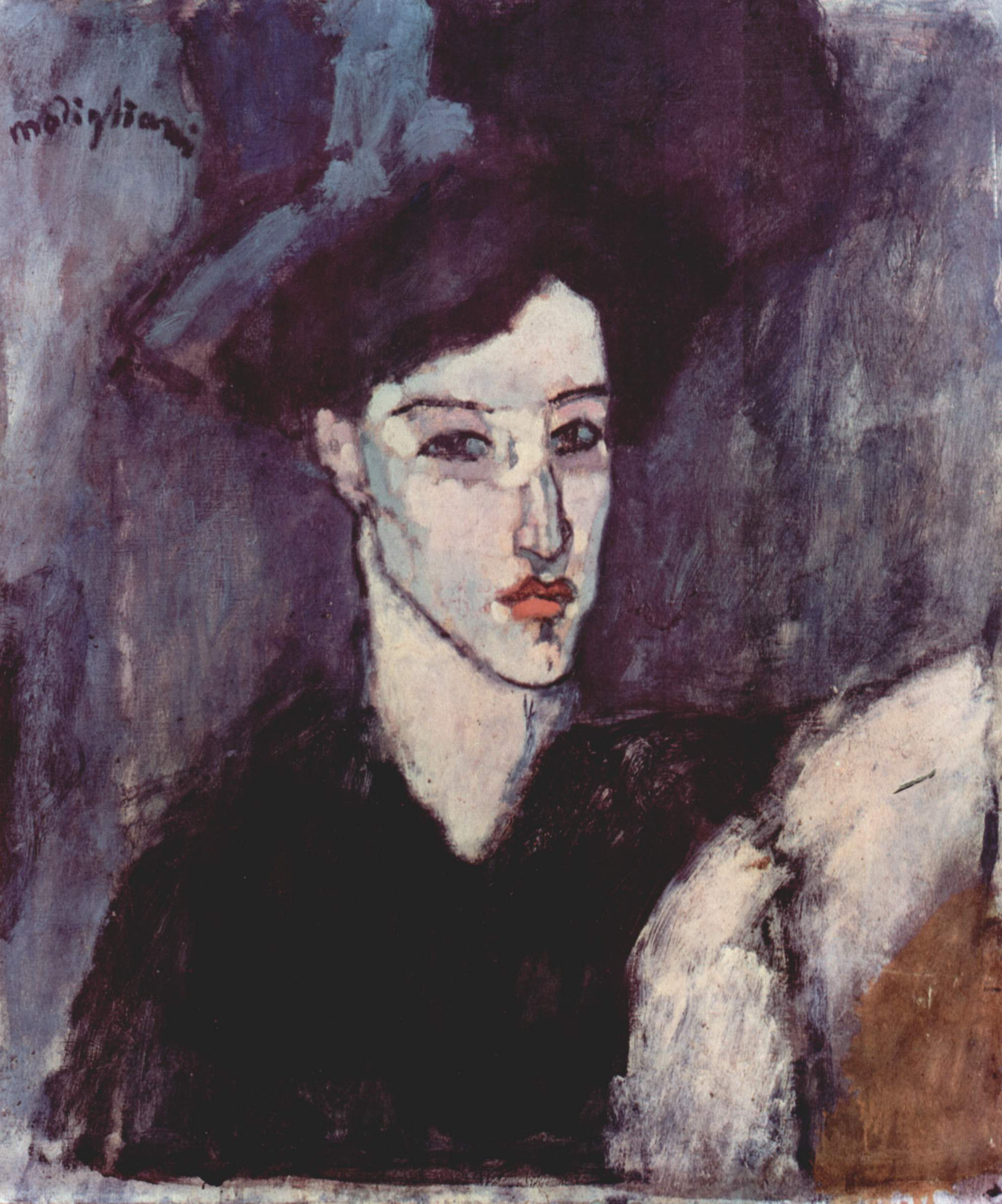File amedeo modigliani wikimedia commons for Basic portrait painting