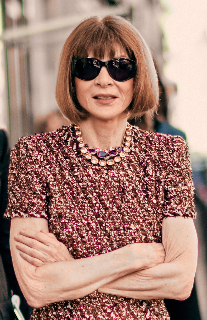 The 70-year old daughter of father Charles Wintour and mother Eleanor Trego Baker Anna Wintour in 2019 photo. Anna Wintour earned a  million dollar salary - leaving the net worth at 35 million in 2019