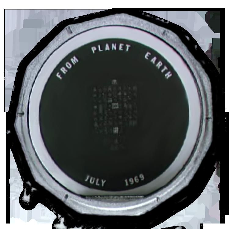 Apollo 11 silicon disk