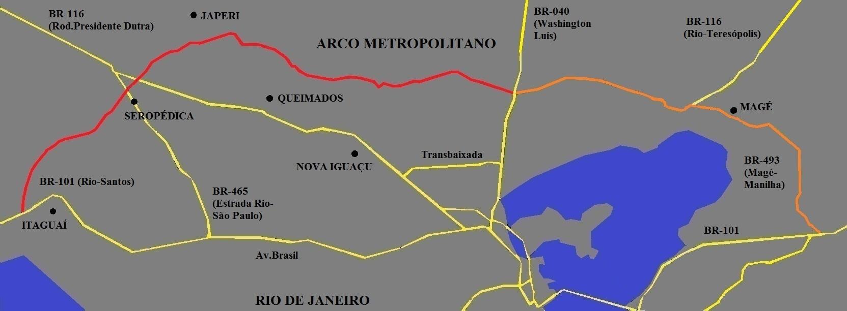 Veja o que saiu no Migalhas sobre Arco Metropolitano do Rio de Janeiro