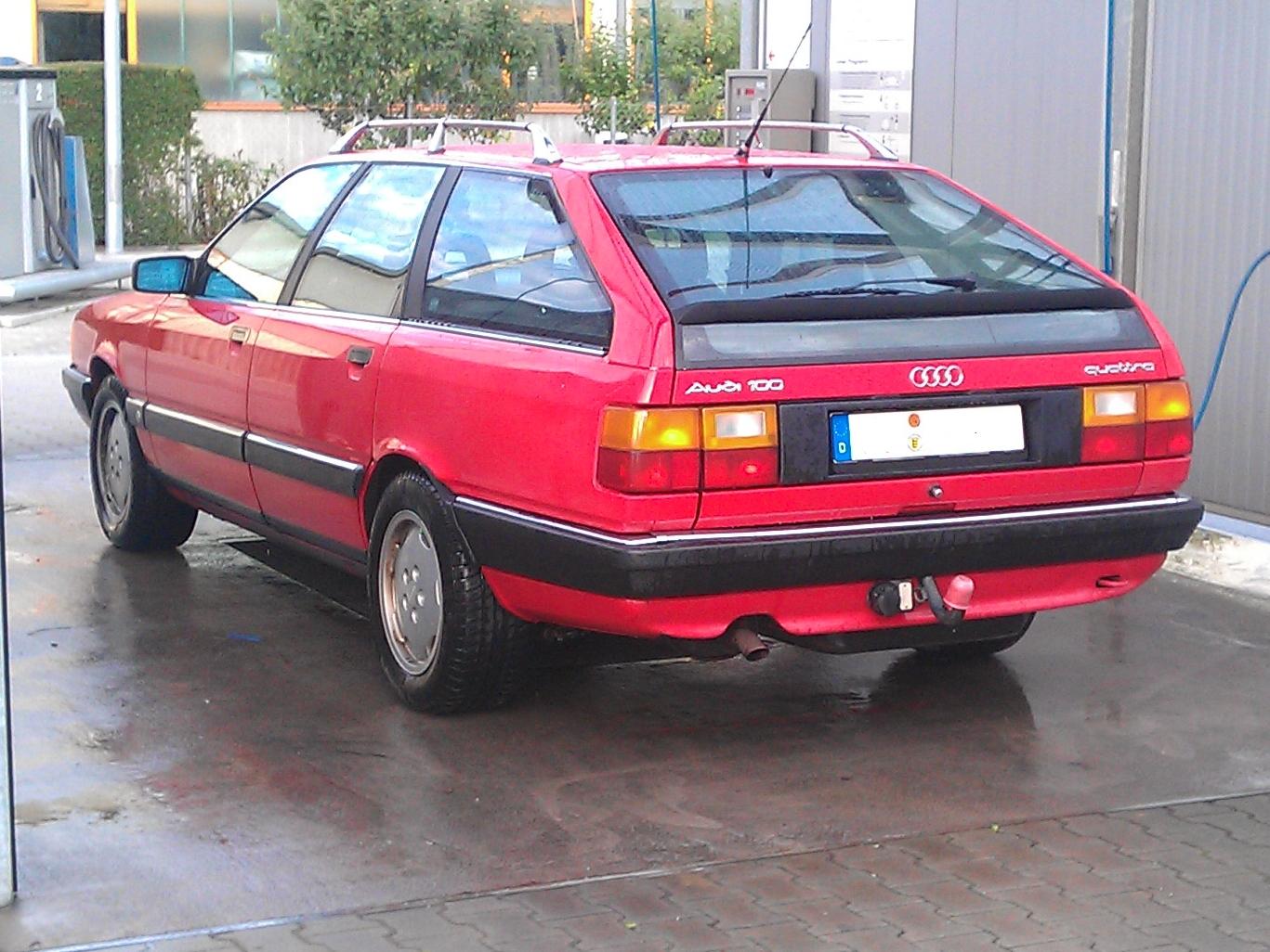 File Audi 100 Avant Quattro Sport R 252 Ckansicht Jpg