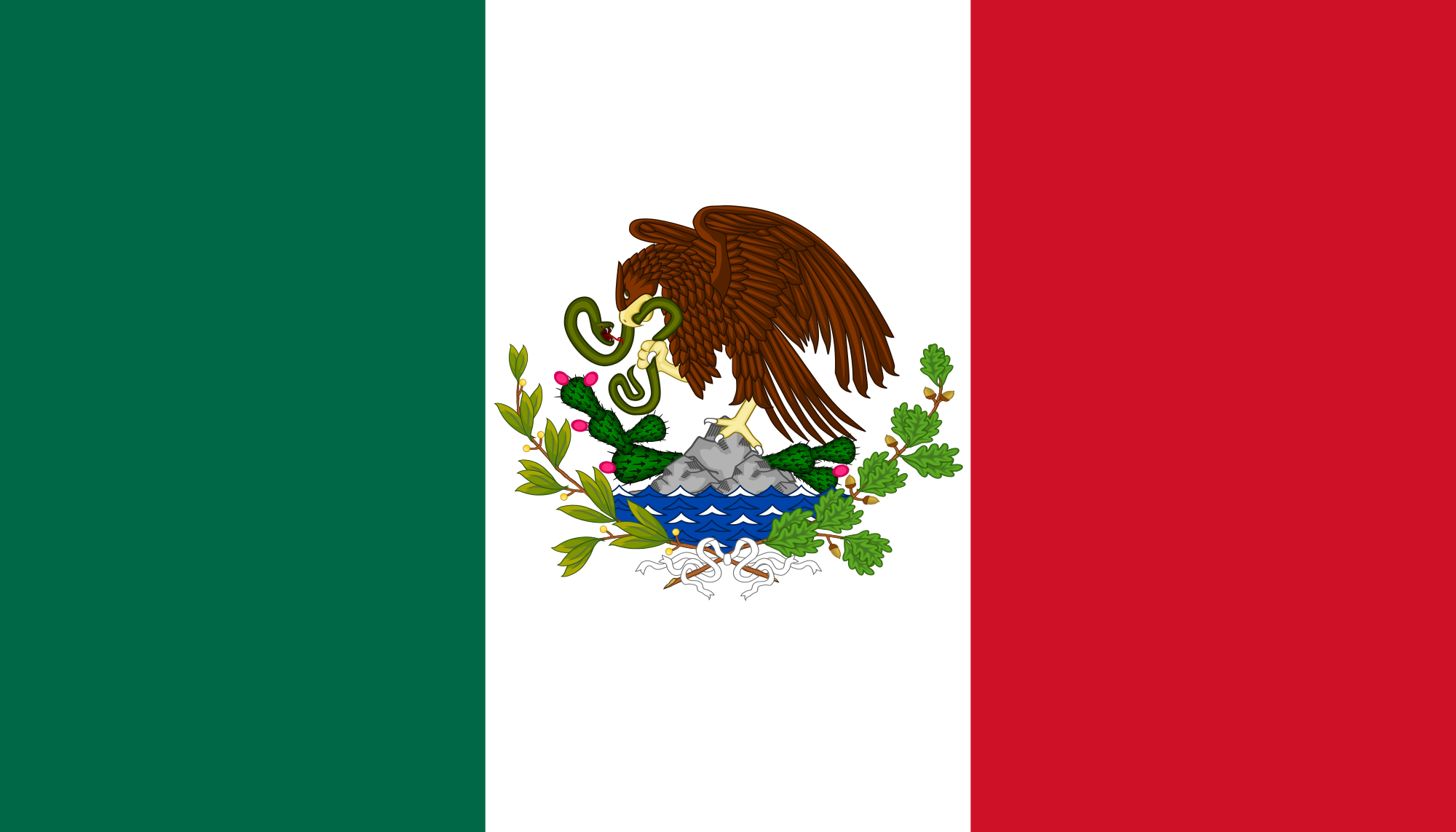 File:Bandera De México (1916-1934).png