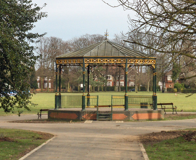 Bandstand in People's Park - geograph.org.uk - 703996