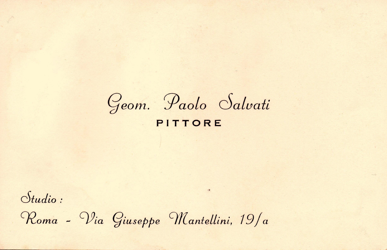 discount shop low price sale best File:Biglietto da visita di Paolo Salvati - Geometra Pittore ...