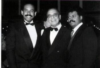 Billo Frometa junto a Oscar D' León y Wilfrido Vargas