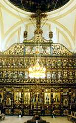 The interior of the Sfanta Treime Romanian Catholic Metropolitan Cathedral Blaj s2.jpg