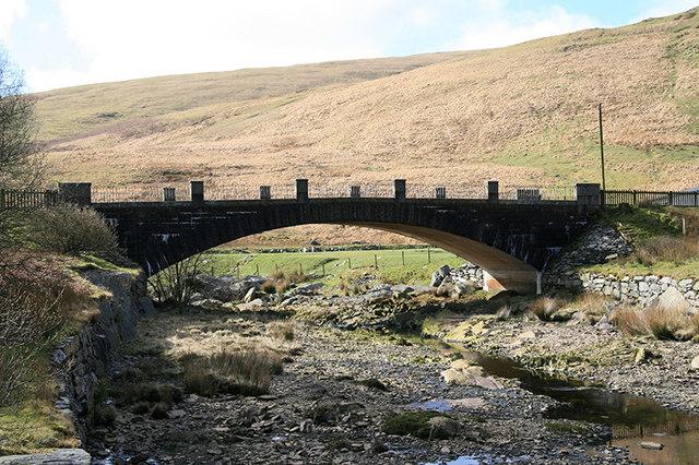 Bridge, Claerwen - geograph.org.uk - 1285779