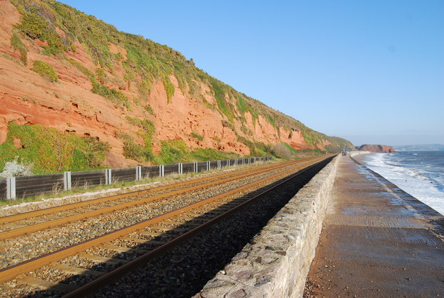 Brunel's Great Western Railway, North of Dawlish - geograph.org.uk - 1116612