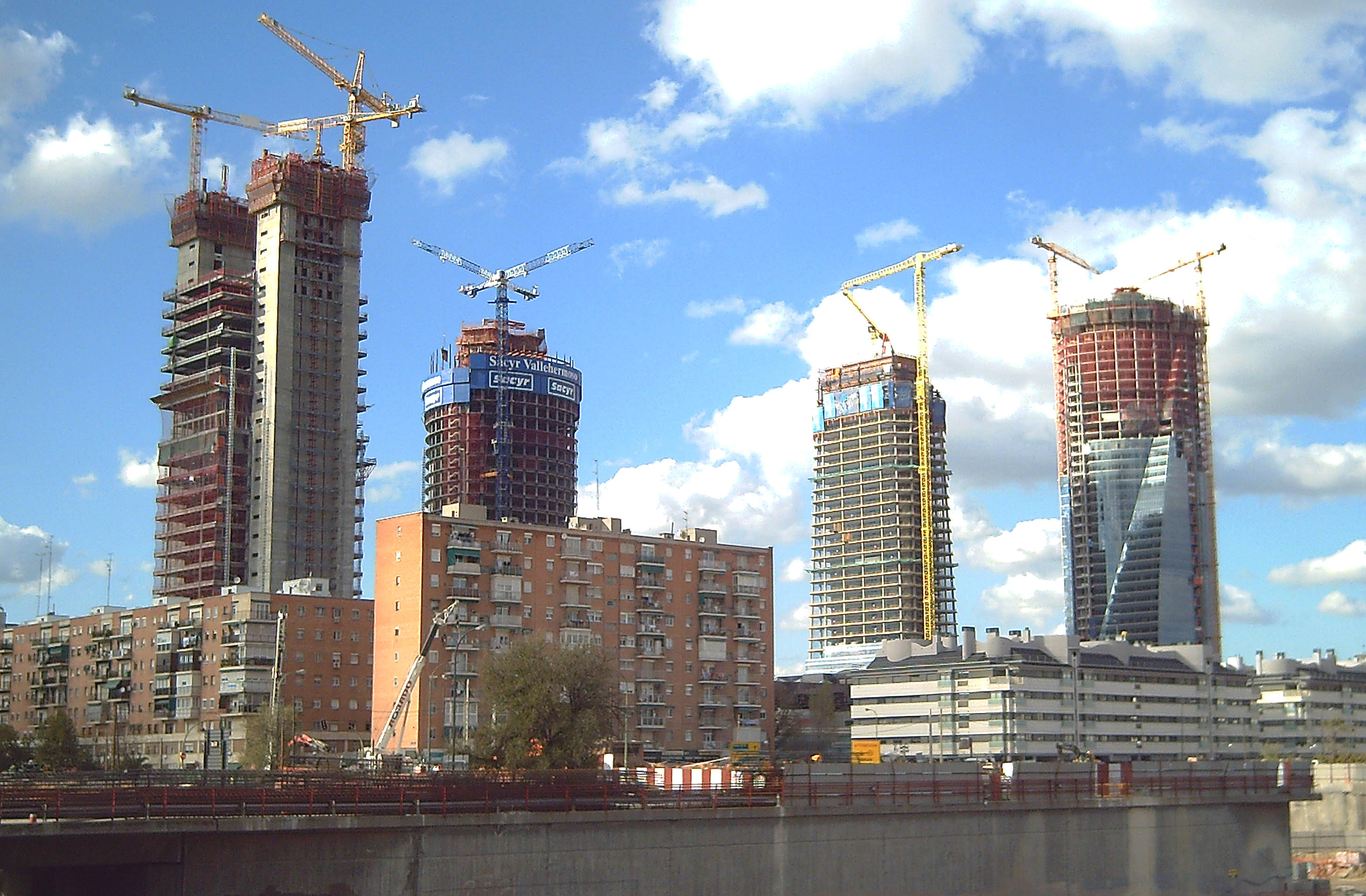 Ctba madrid cuatro torres business area - Empresas de construccion madrid ...