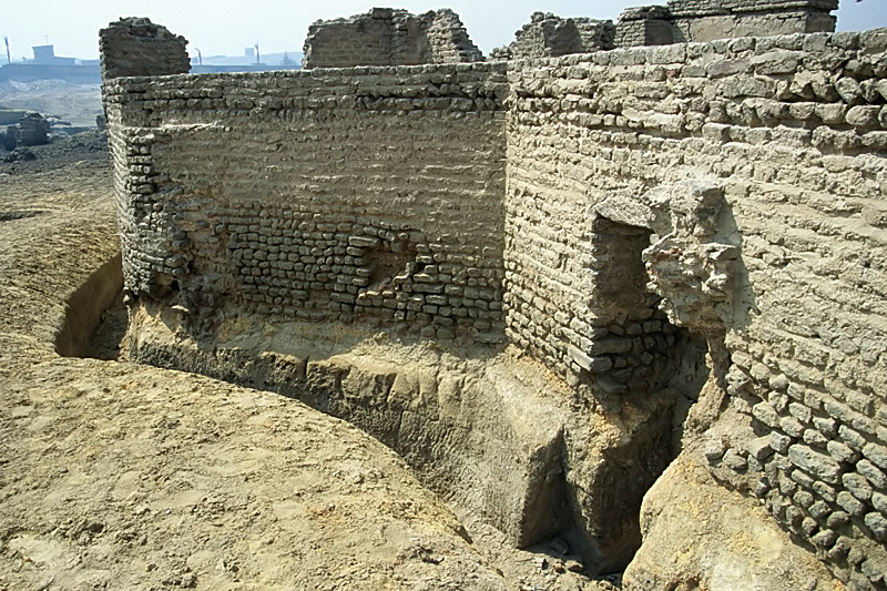 Ruines de la Fustat fondé par amr ibn Al-As radi Allah anhu en 641 lors de la pris de l'Egypte