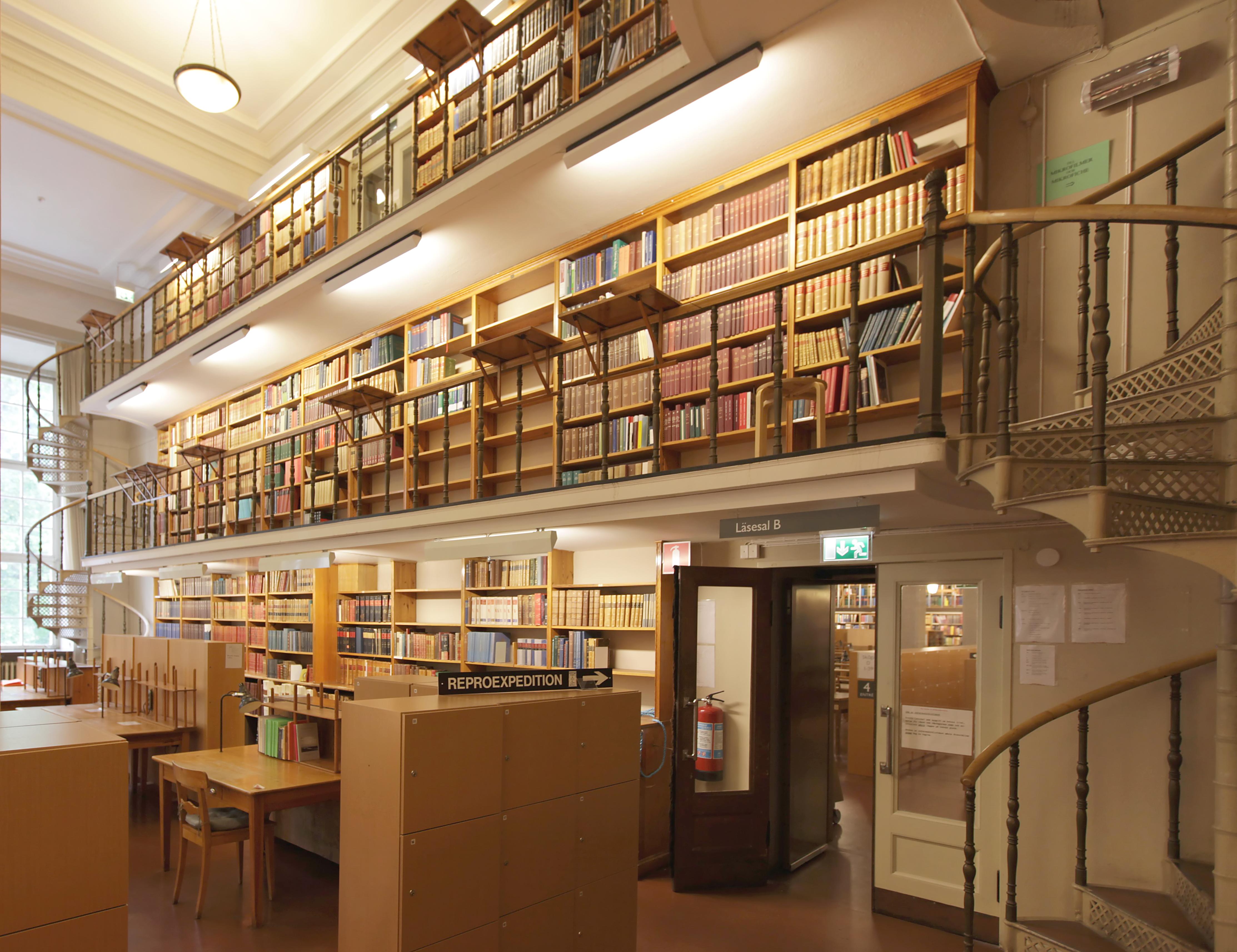 Reading Room Interior Design