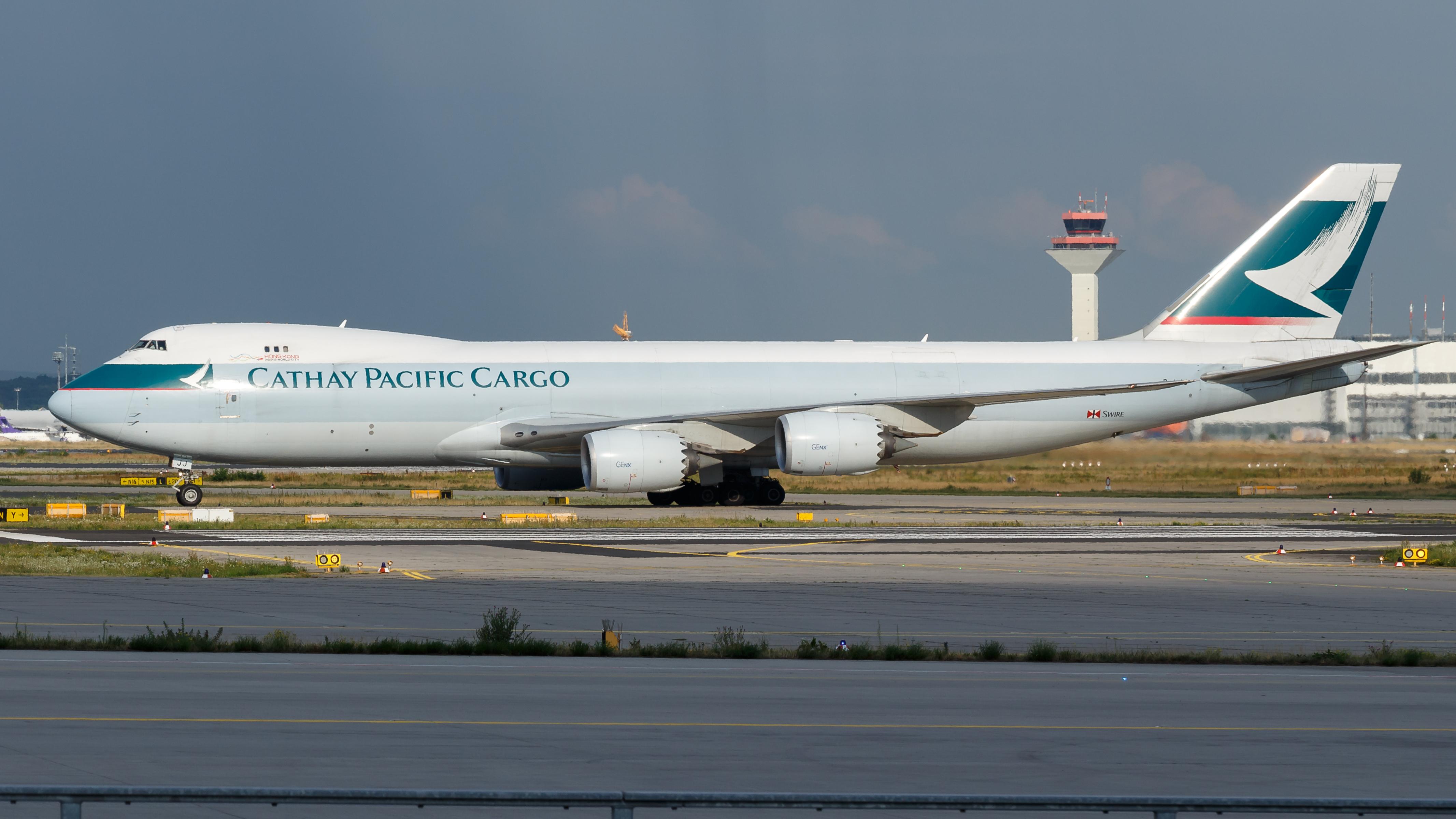 File:Cathay Pacific Cargo Boeing 747-8F (B-LJJ) at Frankfurt