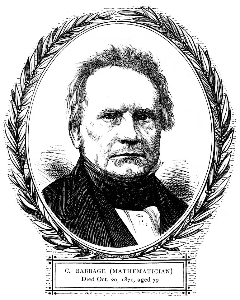 the life and contributions of charles babbage Charles babbage will braxton  babbage was not a very lucky child, but as he progressed in life,  contributions to https:.