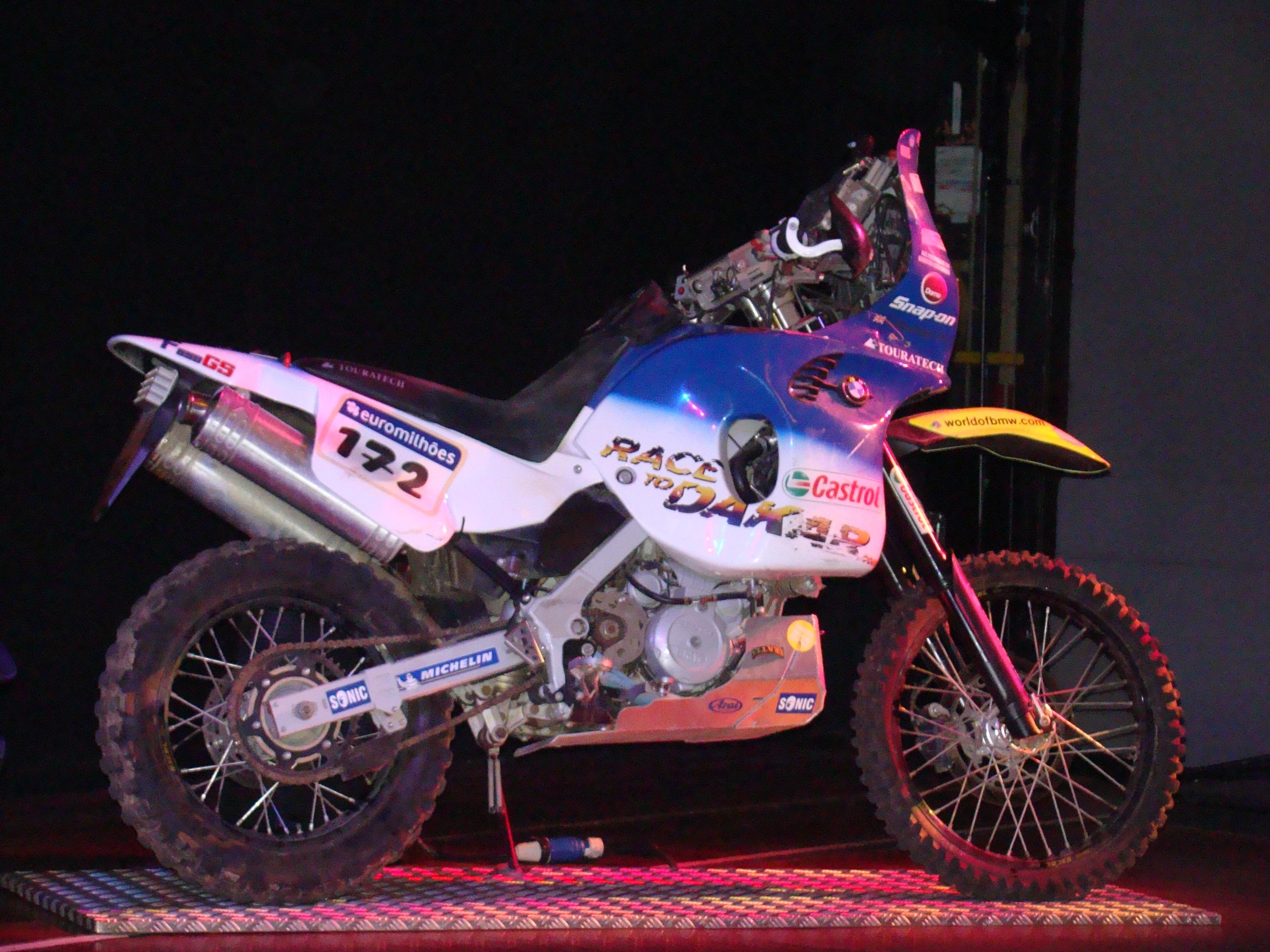 File Charley S Dakar Rally Bmw F650rr Bike Jpg Wikimedia Commons