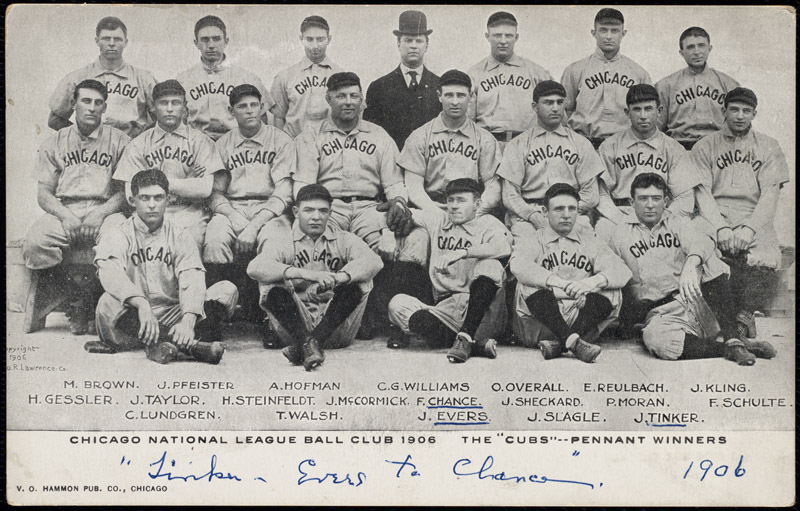 File:Chicago Cubs team picture, 1906.jpg