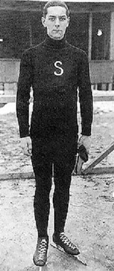 Christfried Burmeister at the 1928 Winter Olympics. Christfried Burmeister, 1928.jpg