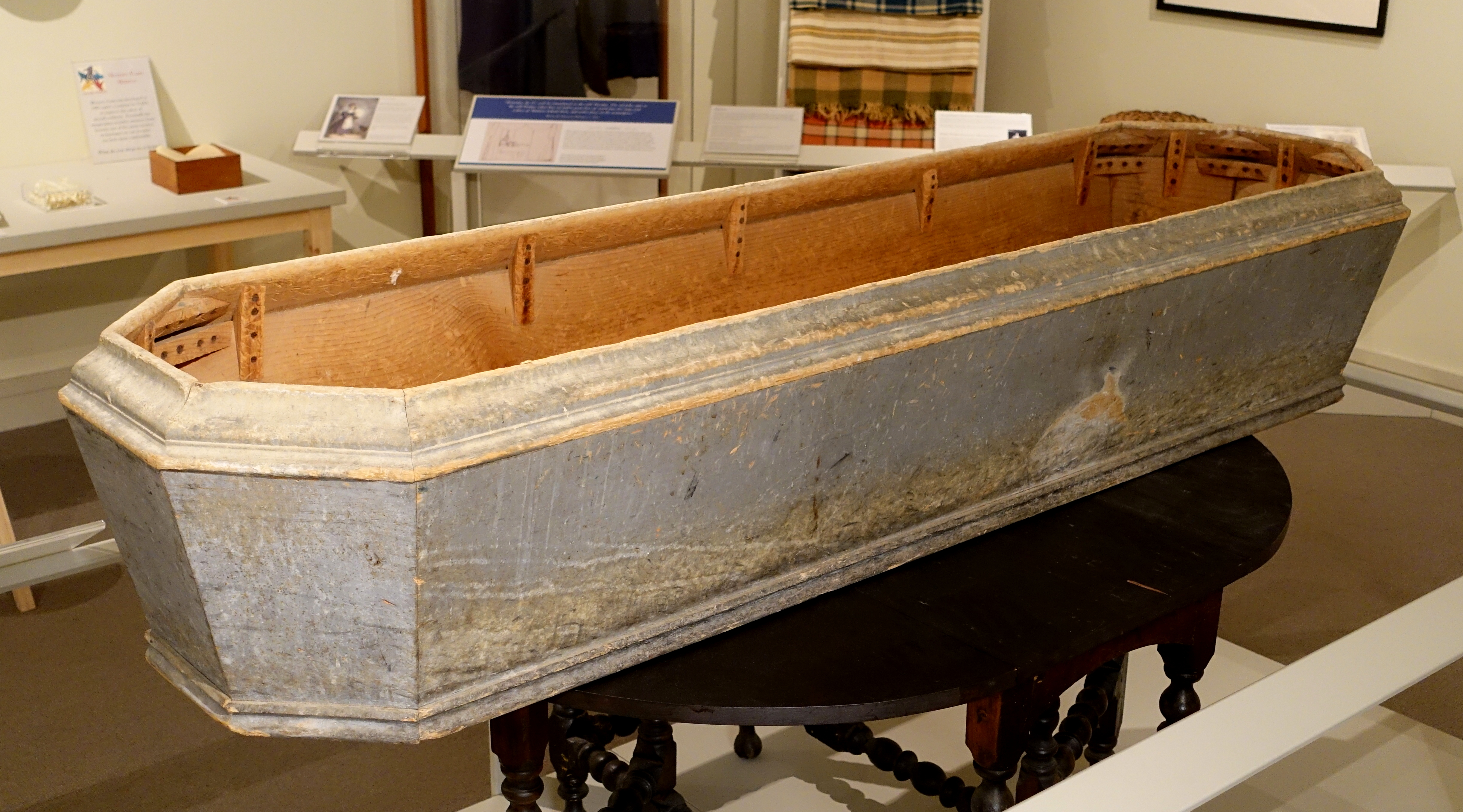 File Coffin Said To Be Town Coffin For Paupers Hancock