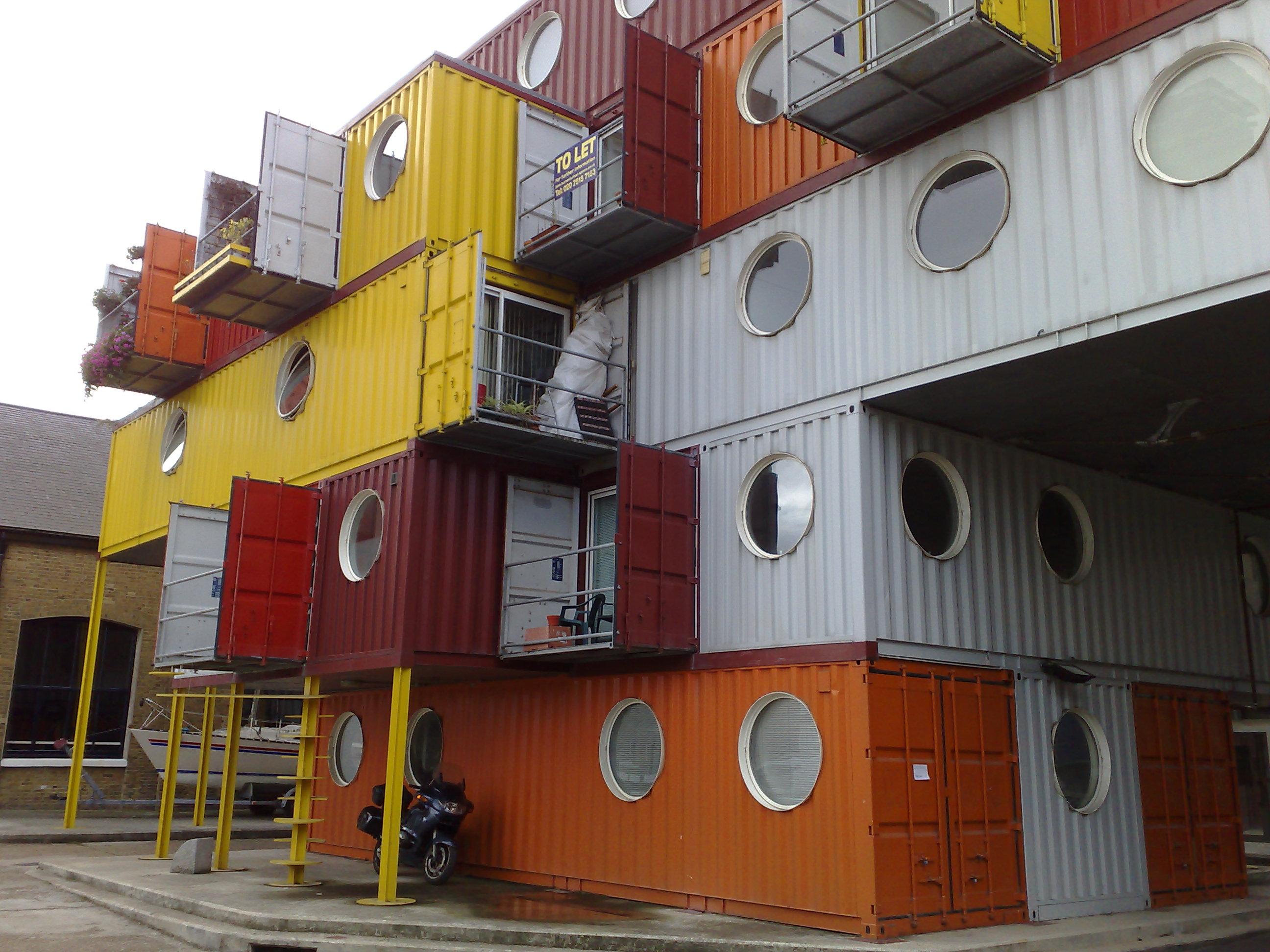 Habitat modulable alternatif et conomique for Container habitation modulaire