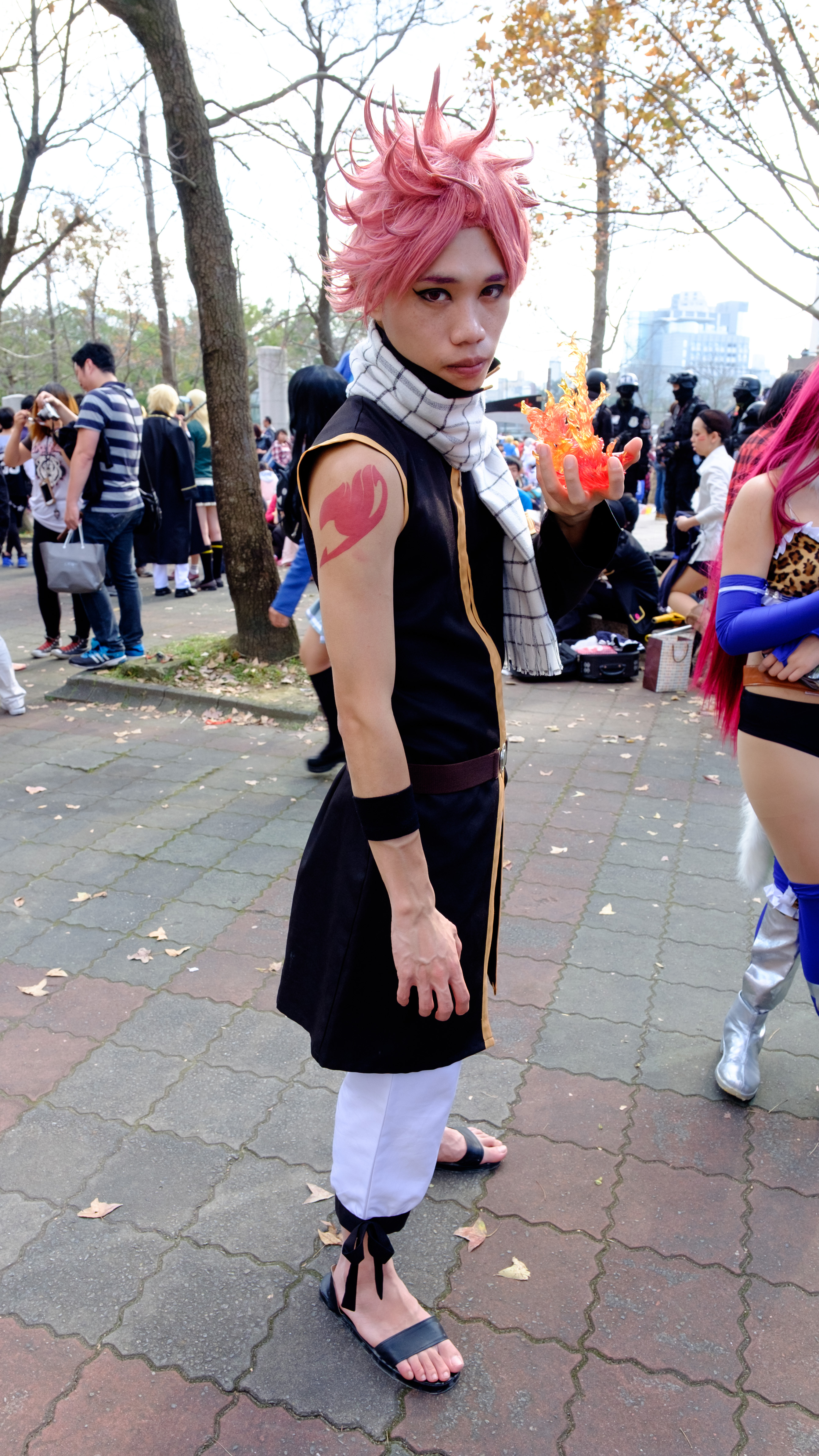 File Cosplayer Of Natsu Dragneel Fairy Tail At Cwt42 20160213 Jpg