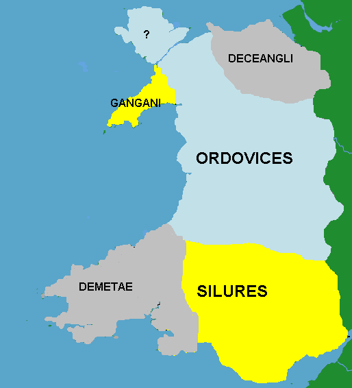 Celtic Tribes Britain Map