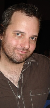 Dan Harmon at Channel 101 in June 2007.